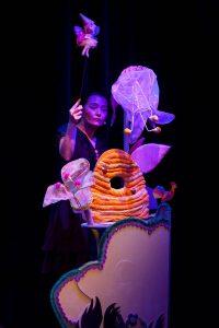 Christina met het elfe uit kabouter Thijm