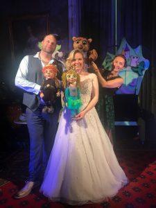 Kikkerprinses bruiloft