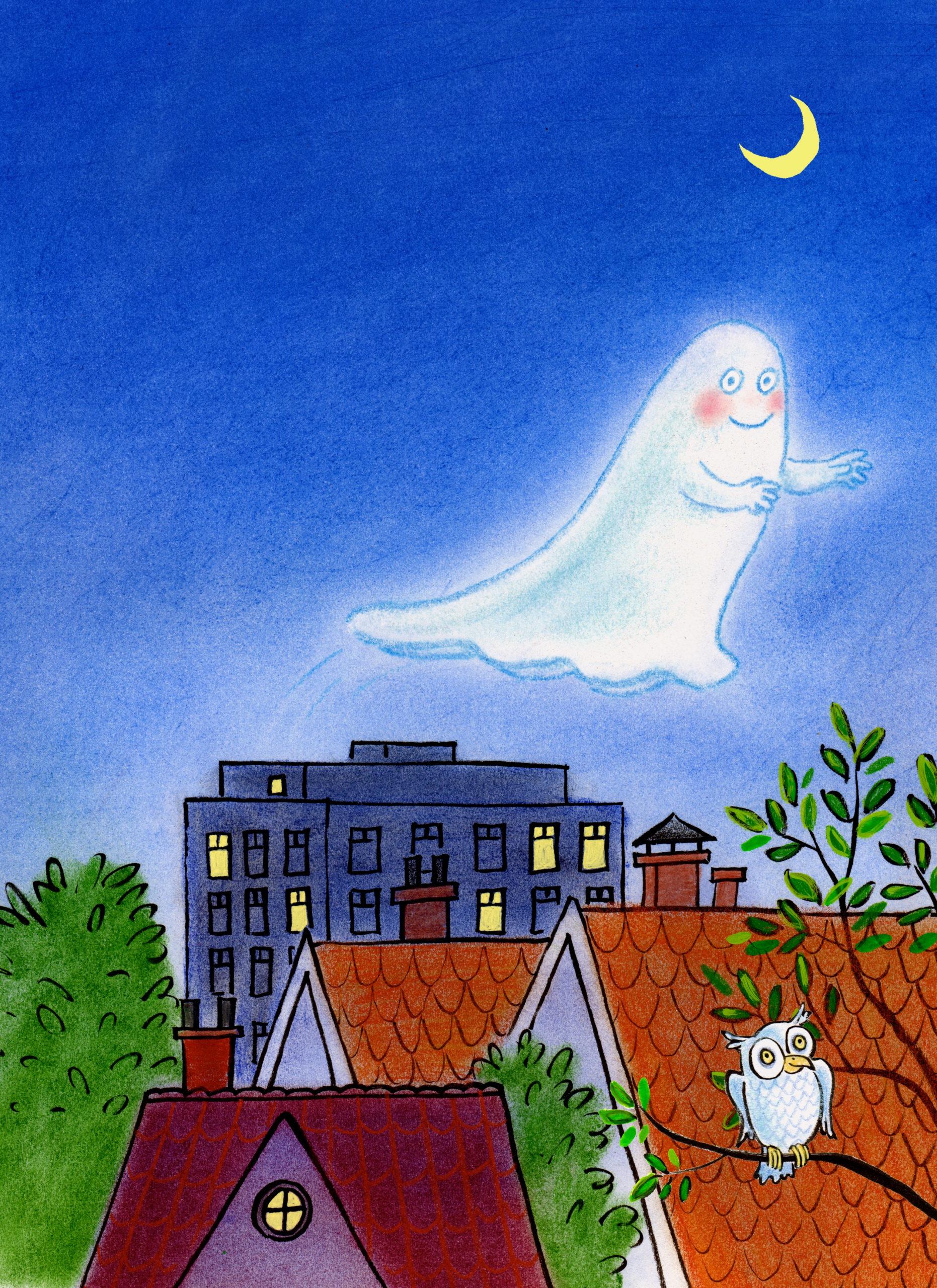 Poster van het Spookje