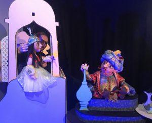 Prinses en koning uit Aladdin