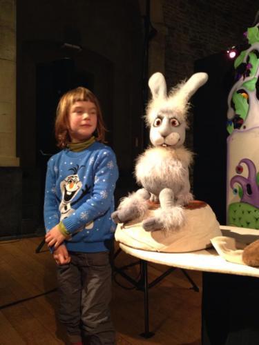 Het konijn uit de Kikkerprinses