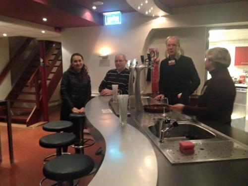 De bar van theater Landgraaf.