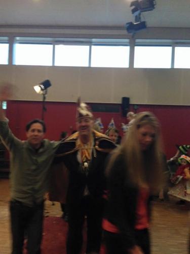 Gilian gaat los met prins carnaval