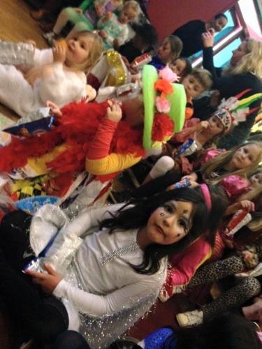 De kinderen waren prachtig verkleed.